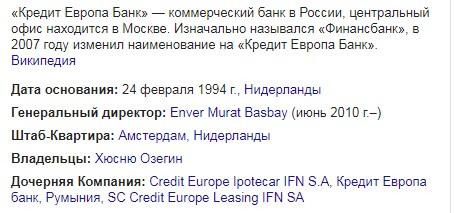 кредит европа банк дает кредиты с плохой историей посмотреть предложения